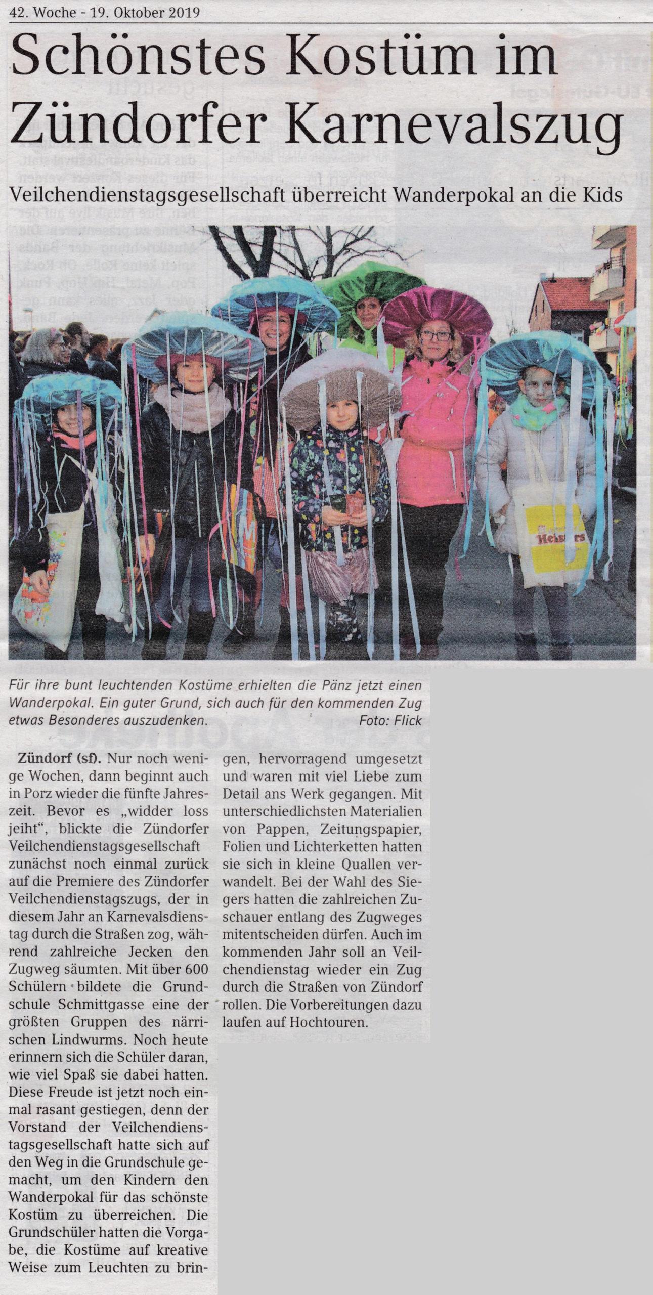 19.10.2019 Porz aktuell