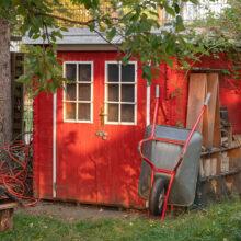 Gartenhaus im Schulgarten