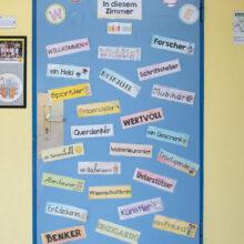 Klassenzimmer-Tür
