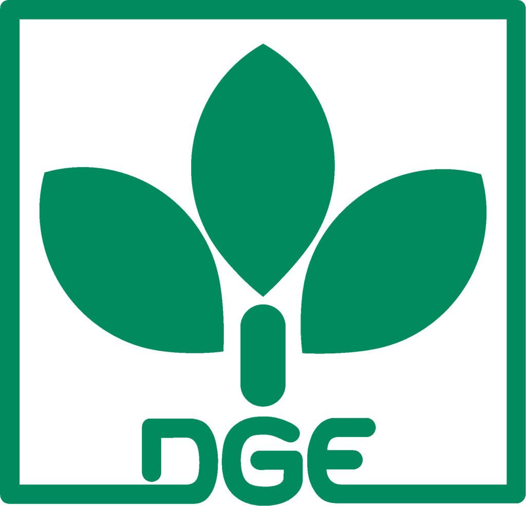Logo der DGE